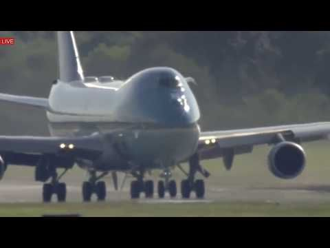 WATCH: Air Force One AMAZING TAKEOFF with President Donald Trump Departures G20 Summit 2017 Germany - YouTube