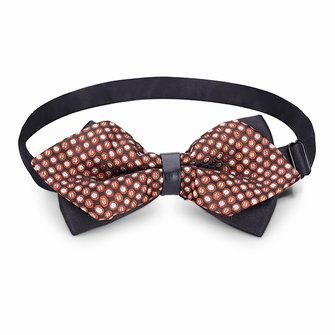 Men Bow Tie The Groom Sharp Corner Polyester Wedding Accessories at Banggood