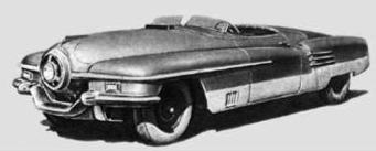 Советские спортивные автомобили / ЗИС-112