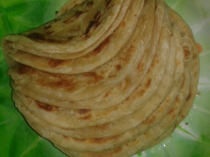 The secret to sweet soft layered chapatis.