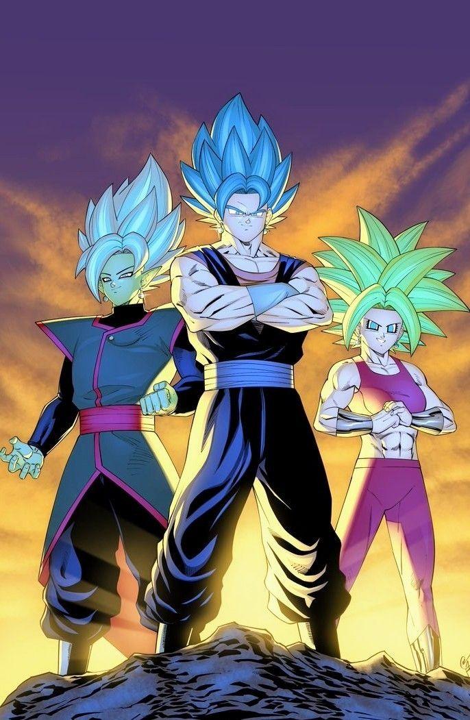 Zamasu Vegito Kefla Anime Dragon Ball Super Dragon Ball Super Manga Dragon Ball Art