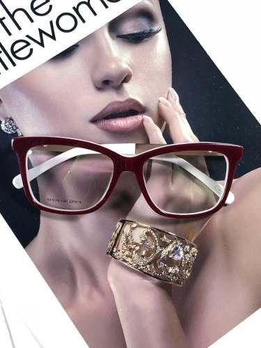 604ad29f2 Armação De Óculos De Grau Gatinho C/ Pérola Haste C/ Brinde - R$ 120 ...