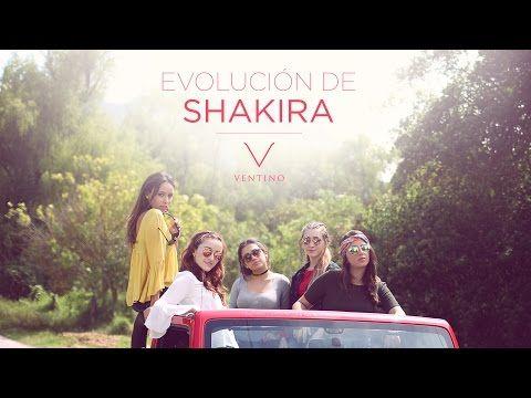 Evolución de Shakira - Ventino - YouTube