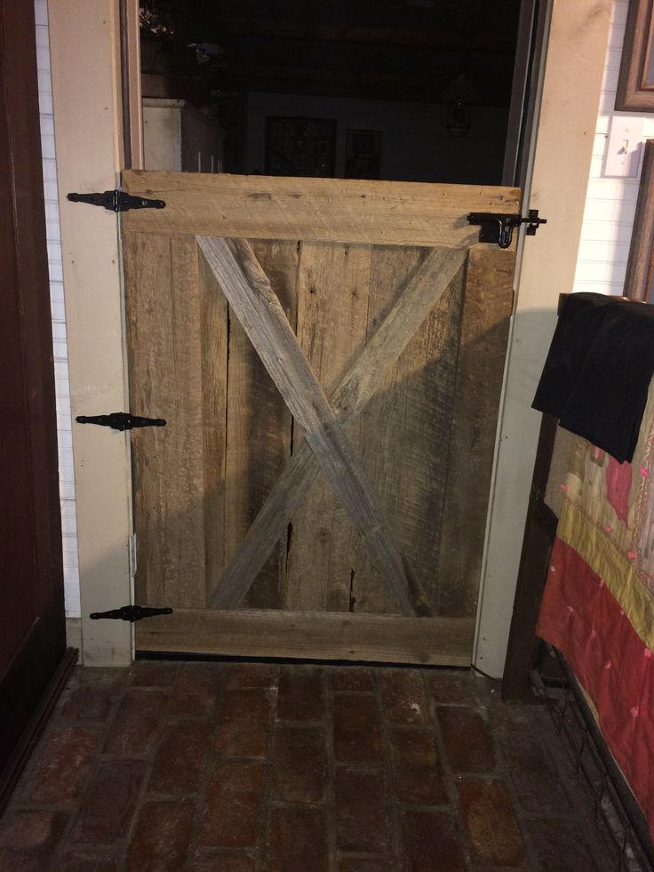 Barn Wood Half Door To Den The Projects Pinterest