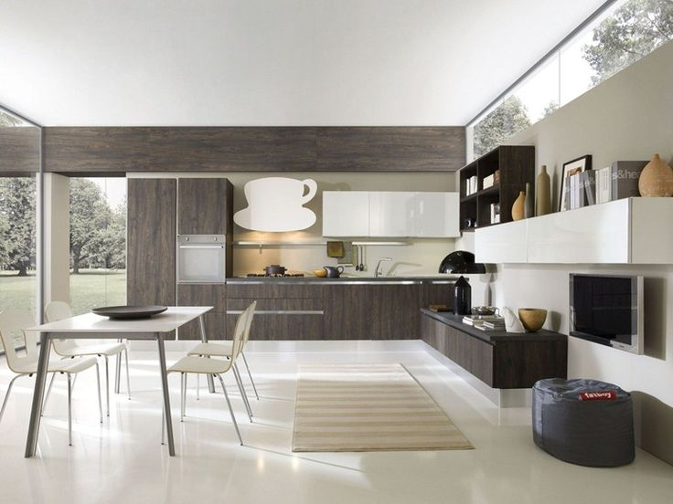 modern kitchen cabinets from the aran cucine erika collection
