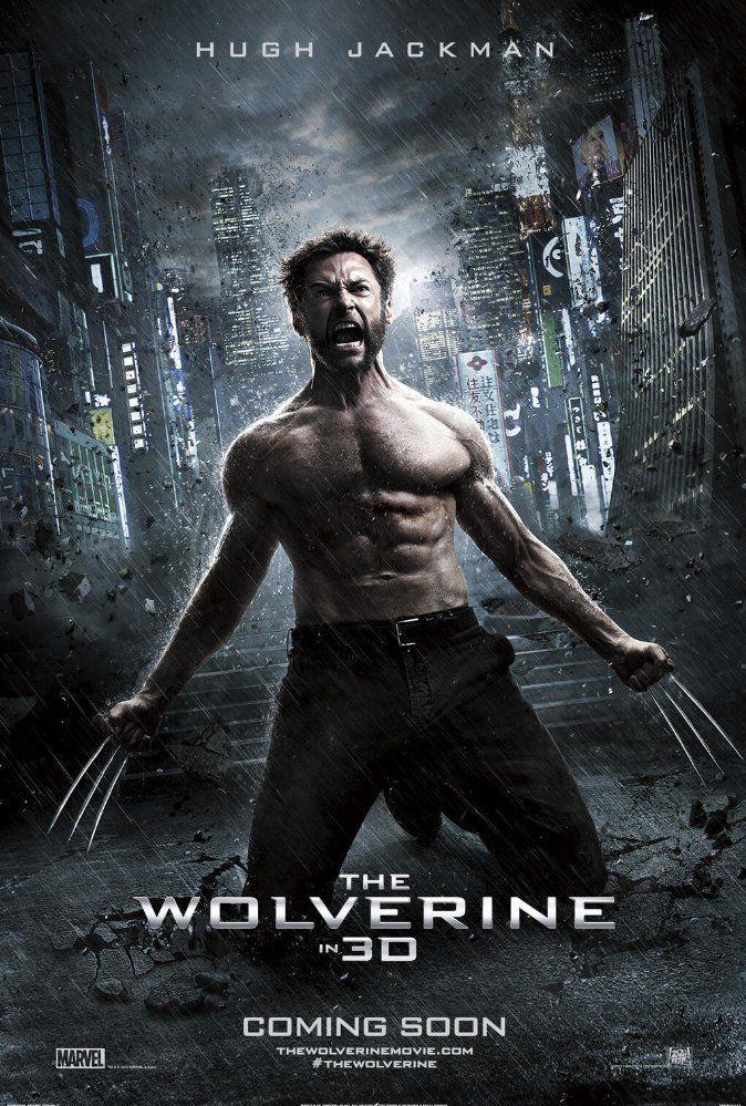 The Wolverine 2013 Dual Audio Hd 720p Bluray Dualdl Com Wolverine Movie Wolverine Poster Hugh Jackman