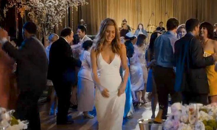 jennifer aniston just go with it wedding dress - Google Search