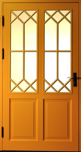 Vacker ytterdörr