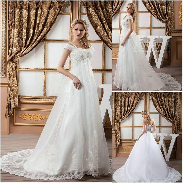 Plus Size Empire Waist Wedding Dress: Empire Waist Plus Size Wedding Dress 2013--love The Lacey