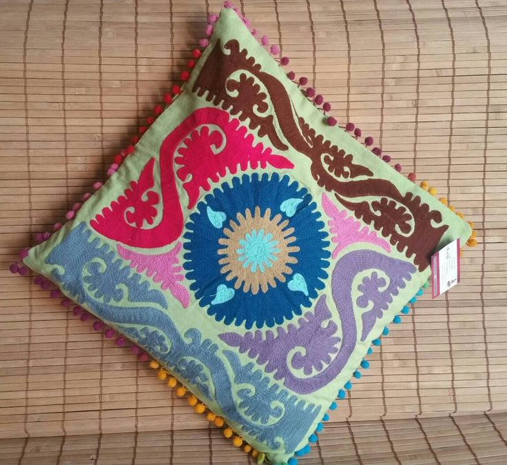 Indian Cushion Covers/Boho Cushions Cover/Ethnic Pillow/Decorative Pillow/Ethnic Cushion/Suzani cushion cover/