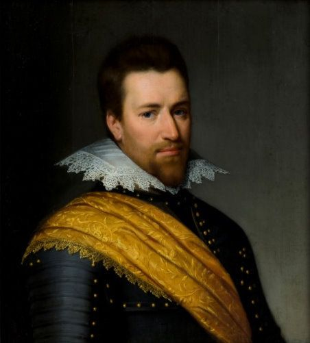 Jan van Ravesteyn or Paulus Moreelse (attr.), portrait of Adolf van Meetkerke, ca. 1610 - Kasteel Amerongen