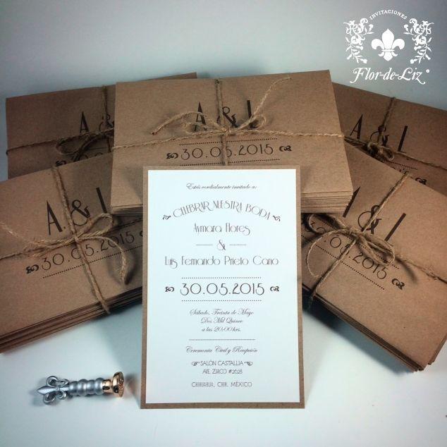 Invitaciones de boda para aymara y luis fernando en papel for Disenos para boutique
