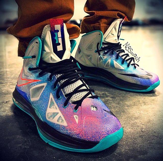 Nike LeBron X Pure Platinum http://www.equniu.com/2013