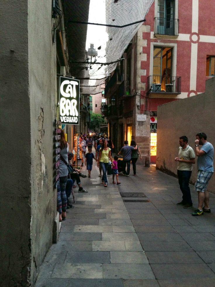 #barcelona #reisen #spanien #teil #veganspain #veganes I