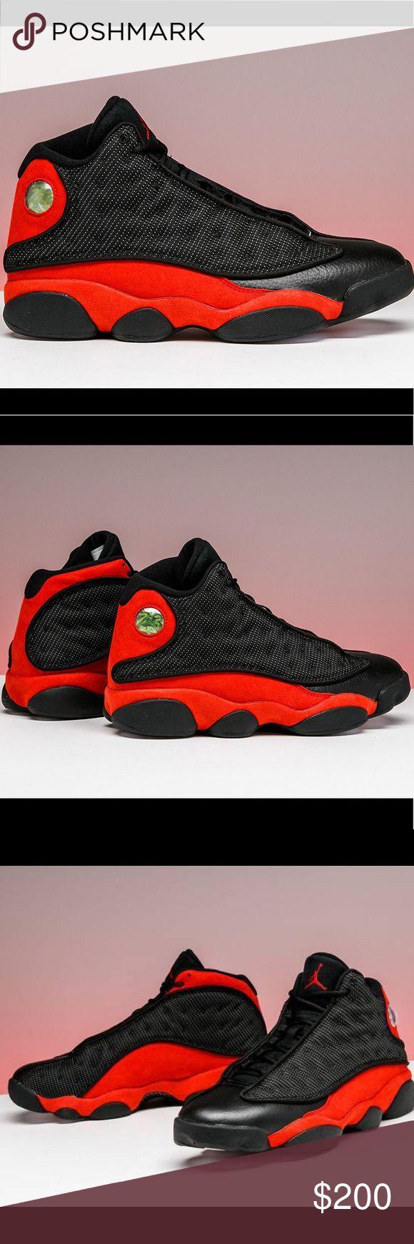 """Air Jordan 13 Retro """"Breds"""" New  Unworn  Authentic Jordan Shoes Sneakers"""
