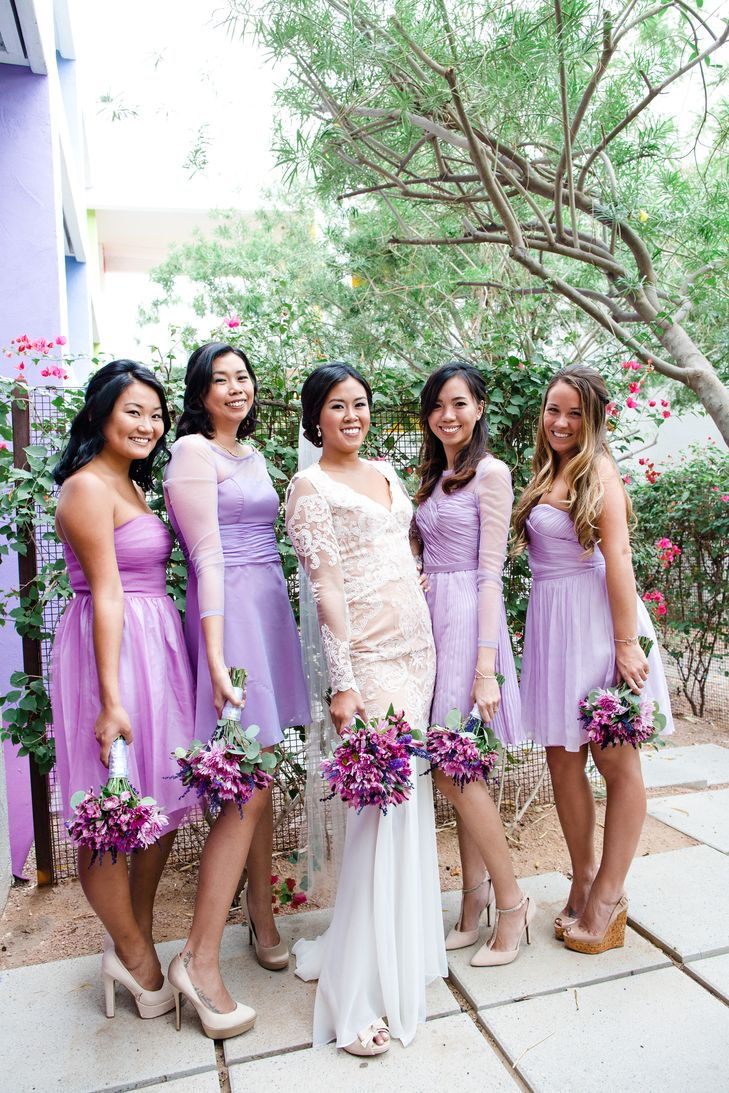 58 best purple bridesmaid dresses images on pinterest purple lavender lilac bridesmaid dresses an subtle mix and match trick ombrellifo Choice Image