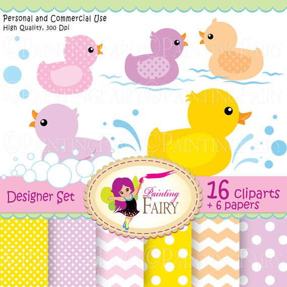 Digital clipart Rubber duck Duckling Baby papers Fun colorful scrapbooking paper pack DIY Personal & Commercial Use pf00045-1  $4.99  Supplies Scrapbooking Paper handmade invitations new babies printable polka dot cliparts happy baby party splashes scrapbook purple rubber ducky boy bubbles birthday bathing toy clipart girl bath clip art girls boys supplies photo card supply baby shower image chevron yellow color