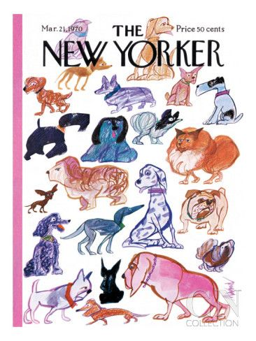 The New Yorker Cover - March 21, 1970 Poster Print by Kenneth Mahood at the Condé Nast Collection