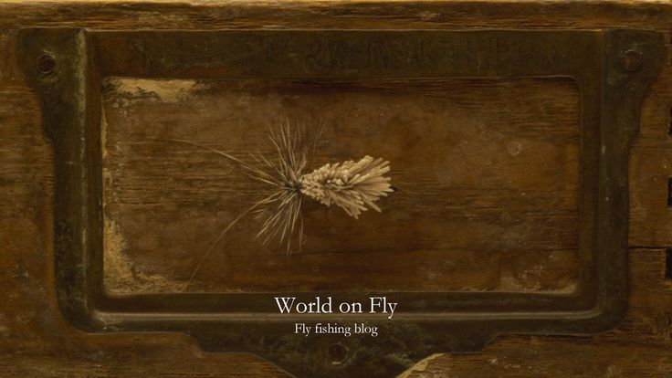 World on Fly Blog about fly tying by fly fishing enthusiaists from Czech Republic. http://worldonfly.tumblr.com/