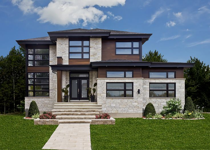 78 best Maison images on Pinterest Future house, Modern homes and - tva construction maison neuve