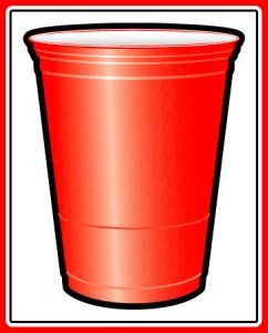 Lots of ideas for hosting a red solo cup party. Proceed to party!