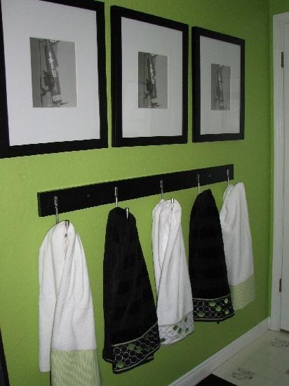 frames and towel bar bathroom ideas pinterest