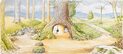 Mrs. Rabbit's Burrow