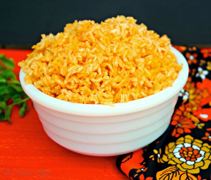 Rice is so versatile. Here's a flavorful way to dress it up! #SpanishRice - The Foodie Affair