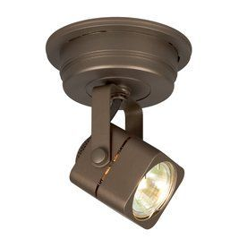 Galaxy Apollo 4.75-In Bronze Flush Mount Fixed Track Light Kit 70118-1