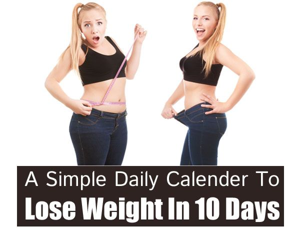 Calender To Lose Weight