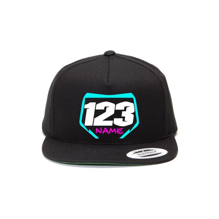 Customizable Moto-Hats for motocross riders