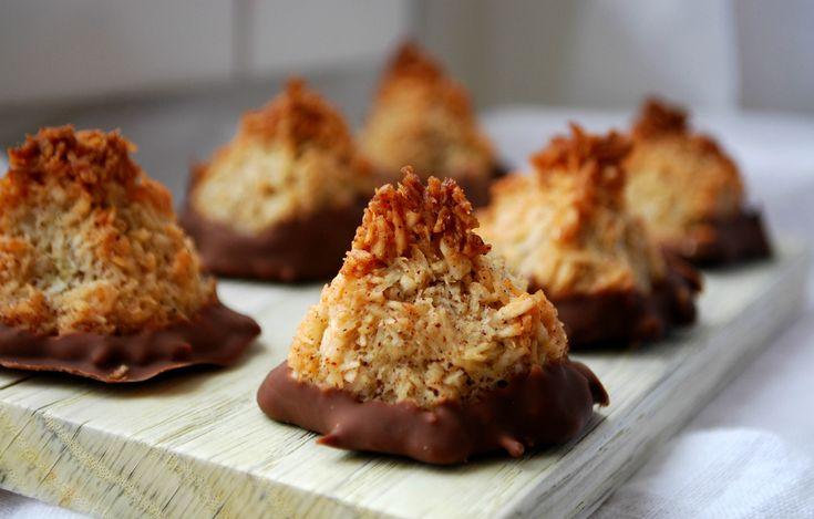Kokostoppar med kanel