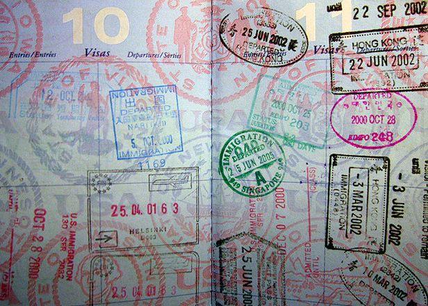 My goal:  to fill my passport