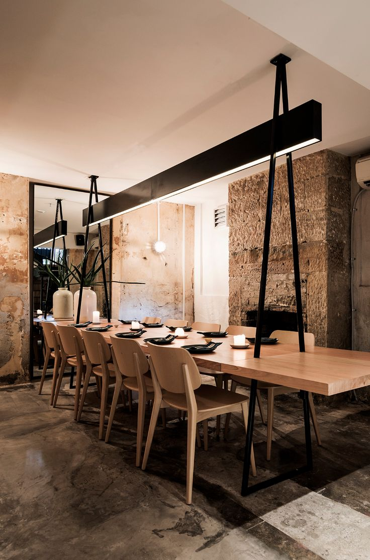 Private dining, extendable table ACME Sydney