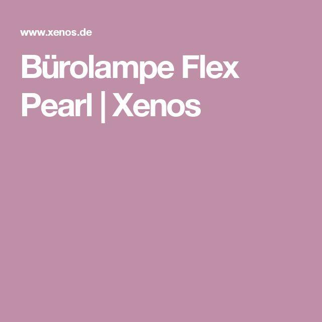Bürolampe Flex Pearl   Xenos