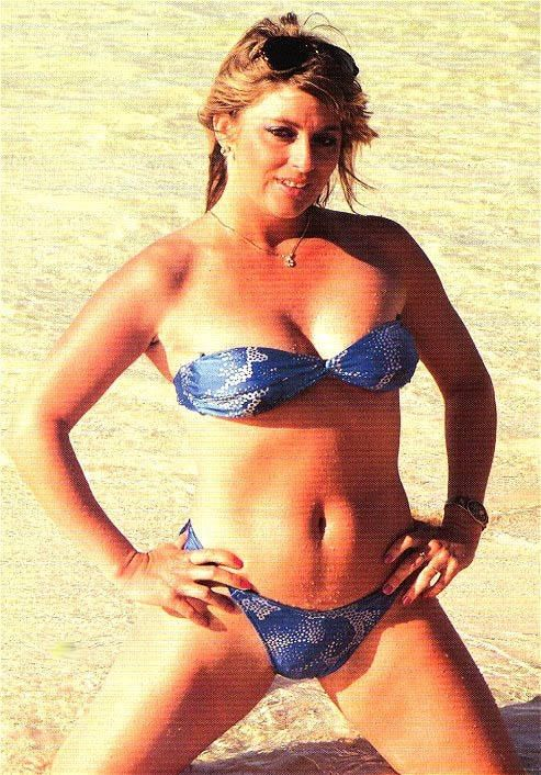 Misty Blue Simmes in 1990, her popularity was peaking. NWA ...