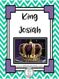 King Josiah lesson, ideas and printables #Biblefun #OTBiblelesson