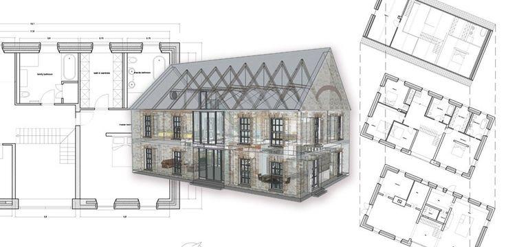 Linehan Construction architectural design 3d cork