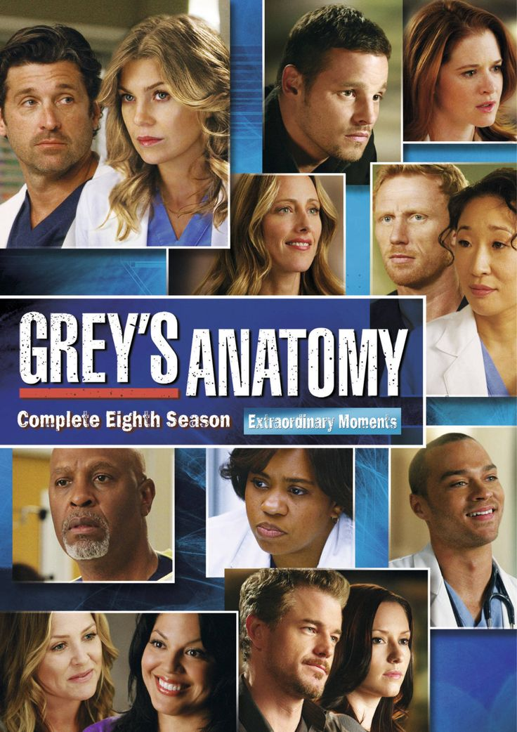 Grey's Anatomy 2012 2013 | Greys Anatomy 8 GEN DVD « Greys Anatomy – Saison 8 » en DVD