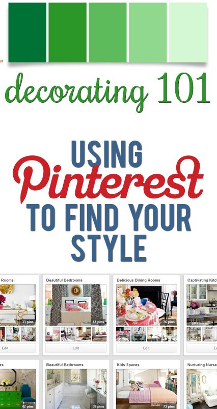 Using Pinterest to Find Your Style