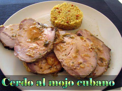 CERDO AL MOJO CUBANO - YouTube