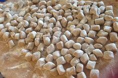 Preparare gli gnocchi con farina di castagne