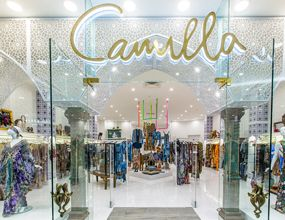 Camilla Indooroopilly displays fashioned clothes designed by the fashion designer Camilla Franks. She is very popular for all fashionistas and celebrities.