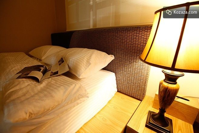 Double Room: For your comfort this Double Room comes in 2 options: 1 Double bed or 2 Super Single beds. Each rooms come with personal cabinets.