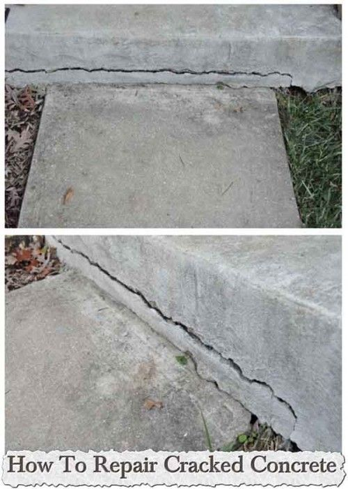 How To Repair Cracked Concrete Gt Gt Gt Gt Learn How To Repair
