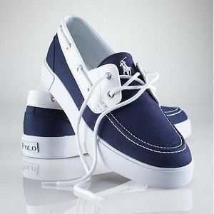 Ralph Lauren Polo Sneakers. I need new summer shoes, so it's these or the Blackstone ankleboots.