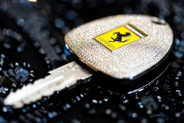 Ferrari key with 1,160 diamonds....Such a personalized version of the car key would cost the buyer $23,147 (£ 14,500), though the prices would differ for other brands.
