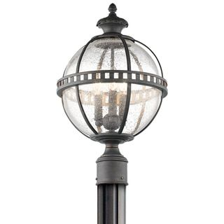 Shop for Kichler Lighting Halleron Collection 3-light Londonderry Outdoor Post Mount. Get free delivery at Overstock.com - Your Online Garden