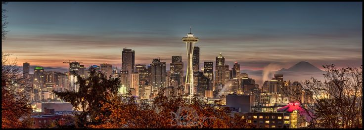 Photograph Seattle Sunrise by Nick Carlson on 500px