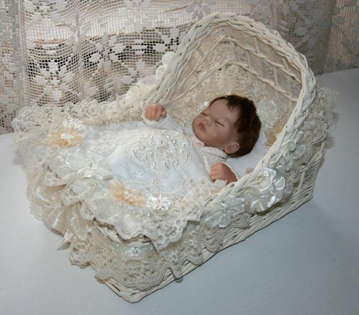 "cradle, crib, bassinet ,OOAK baby,for 10"""